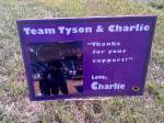 Team Tyson and Charlie (Charlie with Willy)