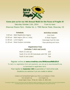 FX Walk flyer 2014 with transparent logo